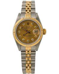 Rolex Orologio Datejust Pre-owned anni '90 - Metallizzato