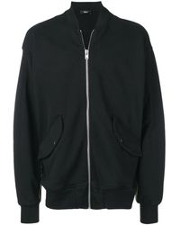 Yang Li Wander ジップアップ スウェットシャツ - ブラック