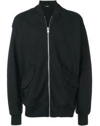Yang Li Wander Zip Sweatshirt - Black