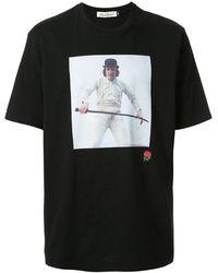 Undercover T-shirt à imprimé graphique - Noir