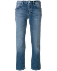 Totême  - Cropped Straight Jeans - Lyst
