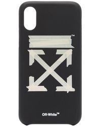 Off-White c/o Virgil Abloh 'Tape Arrows' iPhone XS-Hülle - Schwarz