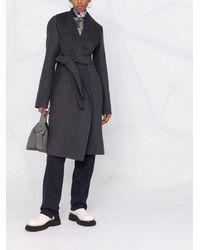 Givenchy ベルテッド コート - グレー