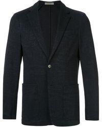 Corneliani スリムフィット ジャケット - ブラック