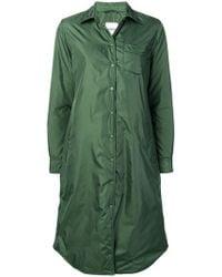 Aspesi - Long Buttoned Raincoat - Lyst