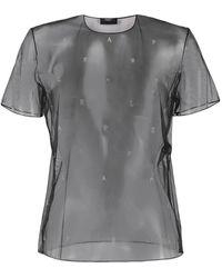 La Perla ロゴ Tシャツ - グレー