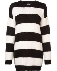 DSquared² オーバーサイズ セーター - ブラック