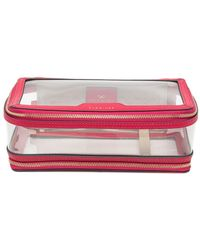 Anya Hindmarch Trousse de toilette Take-Off - Rose