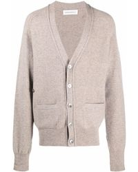 Extreme Cashmere Button-up Knitted Cardigan - Multicolour