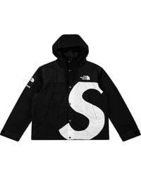 Supreme X The North Face S Logo Mountain Jacket - Black