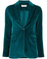 Circolo 1901 ベルベット シングルジャケット - マルチカラー