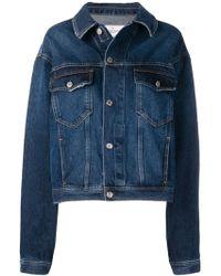 Golden Goose Deluxe Brand オーバーサイズ デニムジャケット - ブルー