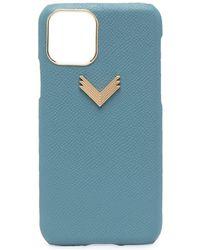 Manokhi Cover iPhone 11 Pro - Blu