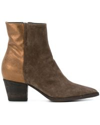 Audrey Boots Creative Green Officine Lyst In PqZtwTExT