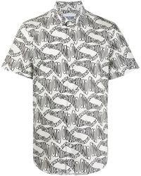 Moschino Рубашка С Логотипом - Черный