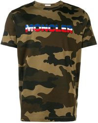 f610bc248 Camouflage Print T-shirt - Green