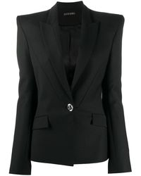 David Koma デコラティブ ジャケット - ブラック