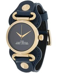 Marc Jacobs The Cuff Horloge - Blauw