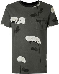 Osklen - T-shirt con applicazione - Lyst