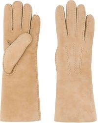 ESCADA Smooth Finish Gloves - Natural