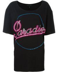 Marc Jacobs Paradise Tシャツ - ブラック