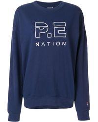 P.E Nation Heads Up セーター - ブルー