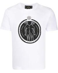 10 Corso Como Gemini Print T-shirt - White