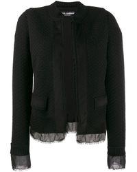 Dolce & Gabbana - ブークレ ツイードジャケット - Lyst
