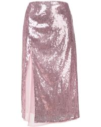 Christian Pellizzari - Sequin Embellished Skirt - Lyst
