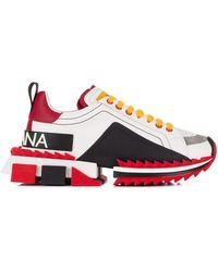 Dolce & Gabbana Super Queen Sneakers - White