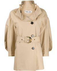 Teija Takki Trench Jacket - Natural