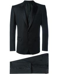 Dolce & Gabbana Traje de tres piezas - Negro