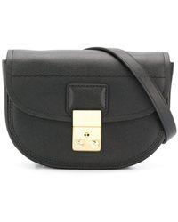 3.1 Phillip Lim Pashli Saddle Mini Belt Bag - Black