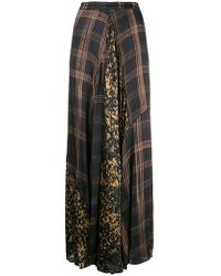 Mes Demoiselles - High Waisted Checked Skirt - Lyst