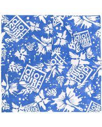 Dior Платок Dior Surf Chick - Синий
