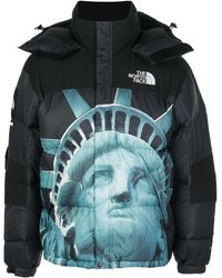 Supreme X The North Face Baltoro Coat - Black