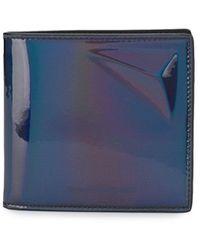 Alexander McQueen Holografische Portemonnee - Zwart