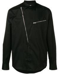 Givenchy - Asymmetric Half-zip Shirt - Lyst