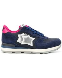 Atlantic Stars - Star Embroidered Sneakers - Lyst