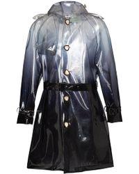 Off-White c/o Virgil Abloh X Art Dad Trench Coat - Black