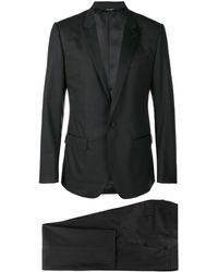 Dolce & Gabbana Dreiteiliger Anzug - Schwarz
