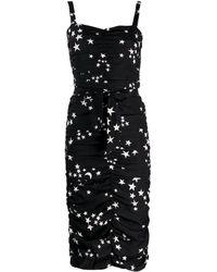 P.A.R.O.S.H. スタープリント ドレス - ブラック