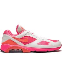Nike Ao4641600 Laser Pink/solar Red-white Furs & Skins->feather - Roze