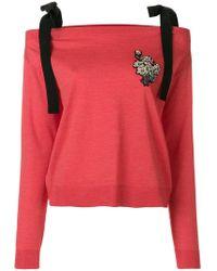Rochas - Embellished Jumper - Lyst
