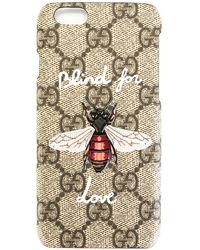 Gucci Чехол 'blind For Love' Для Iphone 6/6s - Серый