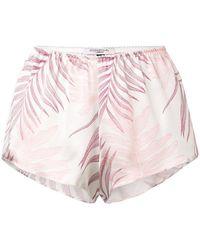 Gilda & Pearl - Short Loose Nightwear Shorts - Lyst