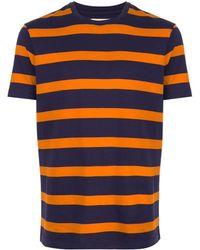 Kent & Curwen - ストライプ Tシャツ - Lyst