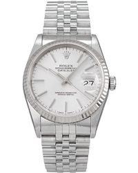Rolex 1993 Pre-owned Datejust 36mm - Metallic