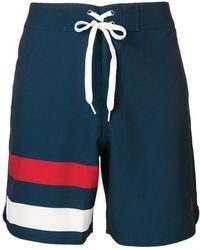 Perfect Moment Super Mojo Drawstring Swim Shorts - Blue