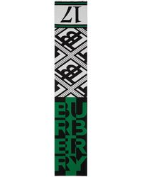 Burberry - ロゴ スカーフ - Lyst